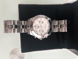 Marc Jacobs Orologio con cinturino di metallo argento-bianco