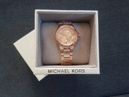 Michael Kors Montre avec bracelet métallique or rose métal