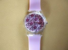 Orologio automatico rosa