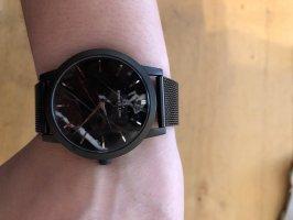 abbott lyon Montre avec bracelet métallique noir