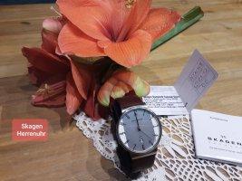 Armbanduhr Skagen Slimline Lederband