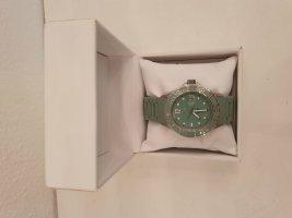 Heide Heinzendorff Automatisch horloge grijs-groen