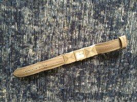 Armani Orologio con cinturino di pelle grigio-grigio chiaro Pelle