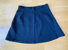 armedangels Mini-jupe noir coton