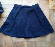 armedangels Skaterska spódnica niebieski-ciemnoniebieski Bawełna
