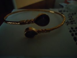 Bangle gold-colored-purple