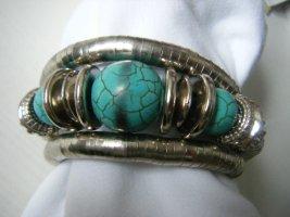 Armreif Armband Wickelarmband  aus Metall - NEU