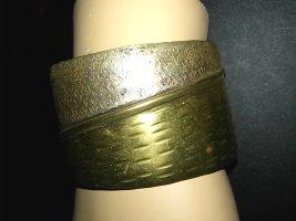 Armreif Armspange aus Indien- Handarbeit- Messing/silber