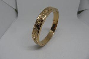 Armreif floral Gelb Gold  585 / 14 Karat Gold 24 Gramm