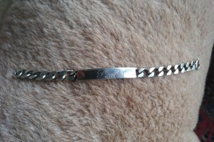 Vintage Braccialetto in argento argento Metallo