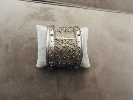 Vintage Bracelet de bras argenté
