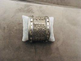 Vintage Mouwband zilver
