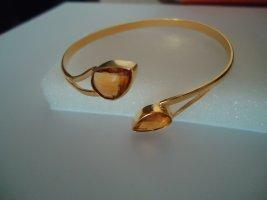 Bracelet de bras doré-orange doré