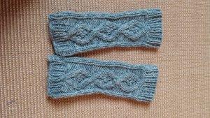 Gants en tricot multicolore laine