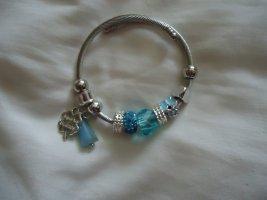 Armlet neon blue-blue