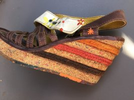 Art Strapped Sandals multicolored