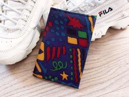 Artsy Vintage Portmonnaie Brieftasche Geldbeutel Festival 90s 00s bunt geometrisch