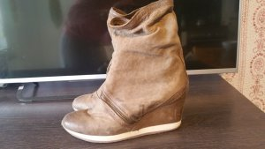 AS98 Sneakers met hak beige