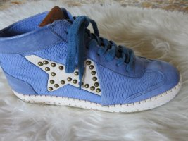 AS98 Basket montante multicolore cuir