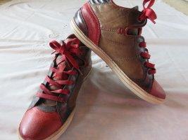 As98 Sneaker rot / braun, Größe 38 ,  NP 189 EUR !!LETZTE REDUZIERUNG !!