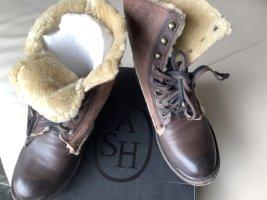 ASH Bottes d'hiver brun-crème