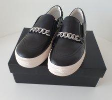 Ash Plateau Damenschuhe Sneakers Slippers Schwarz Gr. 39