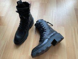 ASH Bottines à lacets noir