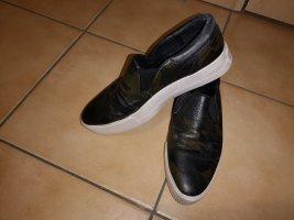 ASH Slip-on ocre cuir