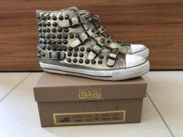Ash Sneaker Gold mit Nieten