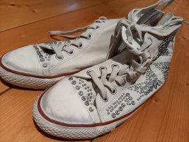 ASH Lace-Up Sneaker white mixture fibre