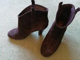 ASH Low boot brun foncé-brun noir