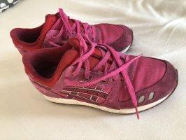 Asics Sneakers met veters magenta-rood