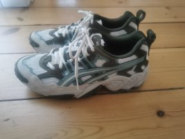 Asics Sneakers met veters khaki-wit