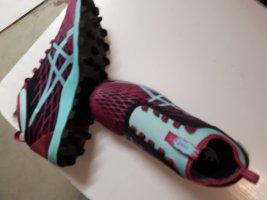 Asics Chaussures à lacets bleu violet-bleu clair