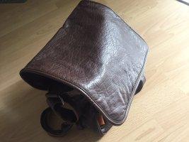 Asos Shoulder Bag dark brown-black brown