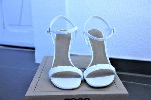 Asos Brautschuhe Hochzeitsschuhe Sandalette Sandale weiß Gr. 36 NEU