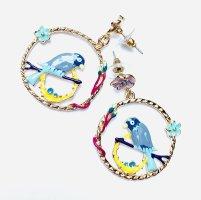 "Asos Filigrane Ohrringe Vintage ""Bird"" Handmade"