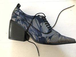 Asos White Lace Shoes dark blue