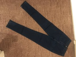 Asos Jeans skinny blu scuro Poliestere