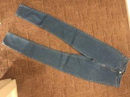 Asos Jeans skinny azzurro Poliestere