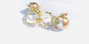 Asos Luxus Ohrringe Champagner Perlen Funkeln!!
