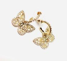 Asos Luxus Ohrringe Vintage Butterfly Funkeln