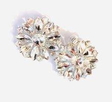 """Asos Luxus Statement Ohrringe Vintage Big """"Kristalle"""" Funkeln Extrem Eyecatcher!! Neu"""