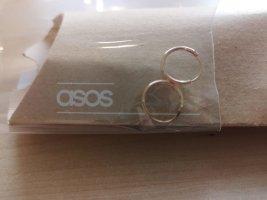 ASOS Ohrringe Rosegold auf Sterling Silber 12mm