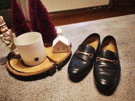 Asos Pantoffels zwart-goud