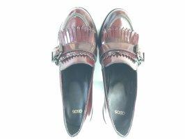 ASOS tassel loafer heels