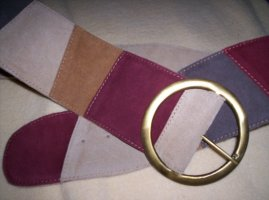 Asos Cintura di pelle multicolore Scamosciato