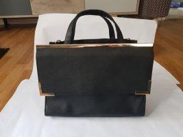 Atmosphere Business Tasche Henkeltasche Schwarz Gold neuwertig