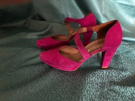 Attraktive Paul Green Pumps, fuchsia