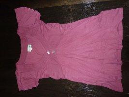 Aubergine farbiges T-Shirt v. Sunichi Gr. 36 Damen Shirt